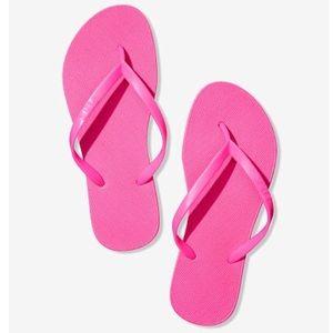 Pink by Victoria's Secret Flip Flops